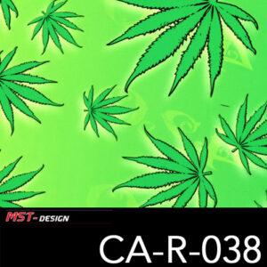 MST-Design, Wassertransferdruck, Cannabis, Folie CA-NR-038