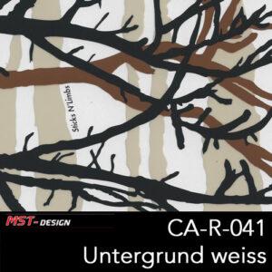 MST-Design, Wassertransferdruck, Camouflage, Folie CA-R-041, Untergrund weiß