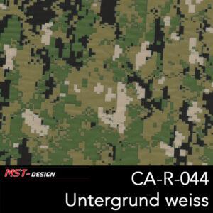 MST-Design, Wassertransferdruck, Camouflage, Folie CA-R-044,Untergrund weiß