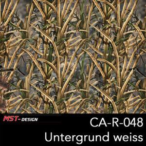MST-Design, Wassertransferdruck, Camouflage, Folie CA-R-048, Untergrund weiß, neu