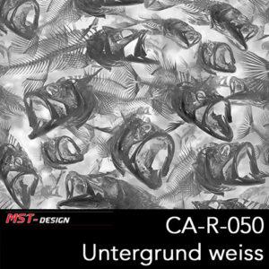 MST-Design, Wassertransferdruck, Folie CA-R-050, Untergrund weiß