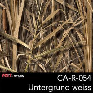 MST-Design, Wassertransferdruck, Camouflage, Folie CA-R-054, Untergrund weiß