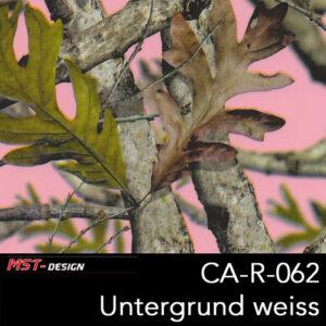 MST-Design, Wassertransferdruck, Camouflage, Folie CA-R-062, Untergrund weiß