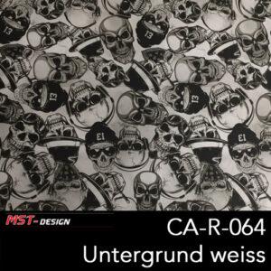 MST-Design, Wassertransferdruck, Folie CA-R-064, Untergrund weiß