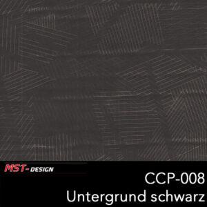 MST-Design, Wassertransferdruck, Folie CCP-008, Untergrund schwarz