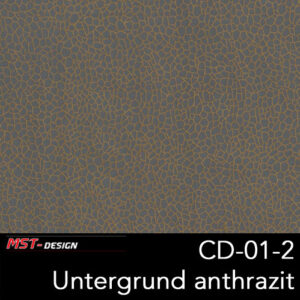 MST-Design, Wassertransferdruck, Folie CD-01-2, Untergrund anthrazit
