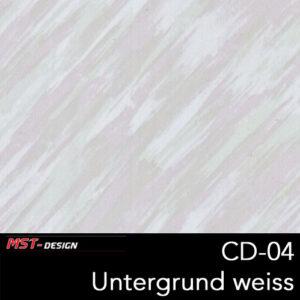MST-Design, Wassertransferdruck, Folie CD-04, Untergrund weiß