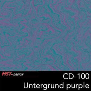 MST-Design, Wassertransferdruck, Folie CD-100, Untergrund purple
