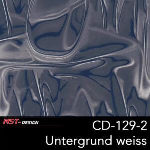 MST-Design, Wassertransferdruck, Folie CD-129-2, Alien Style, Untergrund Weiß