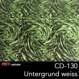 MST-Design, Wassertransferdruck, Folie CD-130, Untergrund weiß