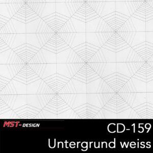 MST-Design, Wassertransferdruck, Folie CD-159, Untergrund weiß