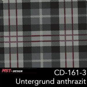 MST-Design, Wassertransferdruck, Folie CD-161-3, Untergrund anthrazit