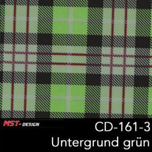 MST-Design, Wassertransferdruck, Folie CD-161-3, Untergrund grün