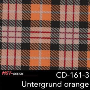 MST-Design, Wassertransferdruck, Folie CD-161-3, Untergrund orange