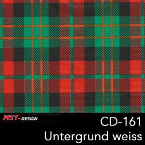 MST-Design, Wassertransferdruck, Folie CD-161, Untergrund weiß