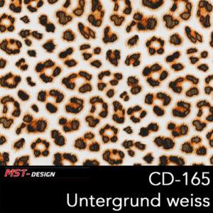 MST-Design, Wassertransferdruck, Folie CD-165, Untergrund weiß