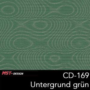 MST-Design, Wassertransferdruck, Folie CD-169, Untergrund grün