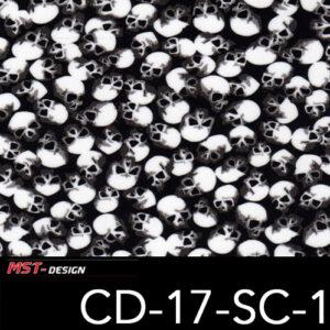 MST-Design, Wassertransferdruck, Folie CD-17-SC-1