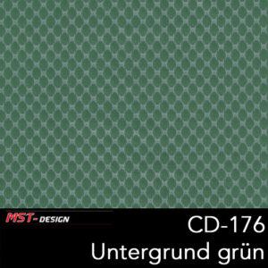 MST-Design, Wassertransferdruck, Folie CD-176, Untergrund grün