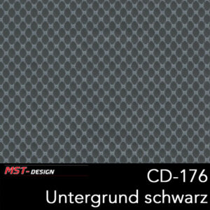 MST-Design, Wassertransferdruck, Folie CD-176, Untergrund schwarz
