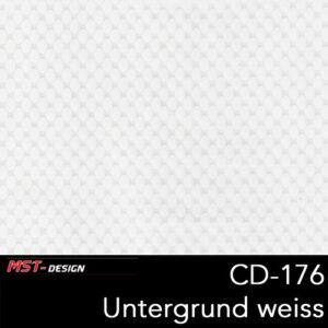 MST-Design, Wassertransferdruck, Folie CD-176, Untergrund weiß