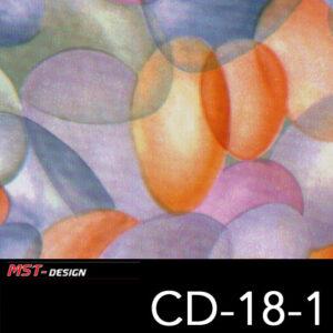 MST-Design, Wassertransferdruck, Folie CD-18-1