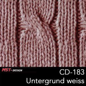 MST-Design, Wassertransferdruck, Folie CD-183, Untergrund weiß