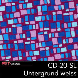 MST-Design, Wassertransferdruck, Folie CD-20-SL, Untergrund weiß