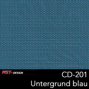 MST-Design, Wassertransferdruck, Folie CD-201, Untergrund blau