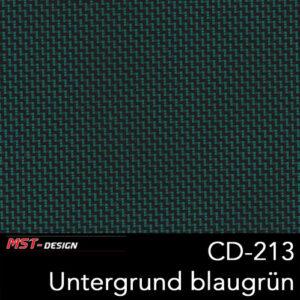 MST-Design, Wassertransferdruck, Folie CD-213, Untergrund blaugrün