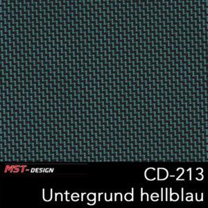 MST-Design, Wassertransferdruck, Folie CD-213, Untergrund hellblau