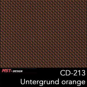 MST-Design, Wassertransferdruck, Folie CD-213, Untergrund orange