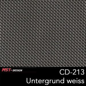 MST-Design, Wassertransferdruck, Folie CD-213, Untergrund weiß