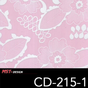 MST-Design, Wassertransferdruck, Folie CD-215-1, Blumen Style