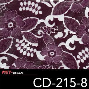 MST-Design, Wassertransferdruck, Folie CD-215-8, Blumen Style