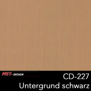 MST-Design, Wassertransferdruck, Folie CD-227, Untergrund schwarz