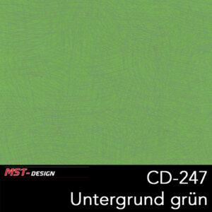 MST-Design, Wassertransferdruck, Folie CD-247, Untergrund grün