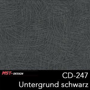 MST-Design, Wassertransferdruck, Folie CD-247, Untergrund schwarz