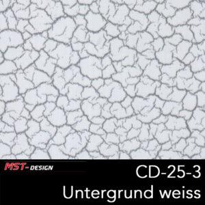 MST-Design, Wassertransferdruck, Folie CD-25-3, Untergrund weiß