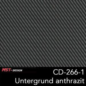 MST-Design, Wassertransferdruck, Folie CD-266-1, Untergrund anthrazit