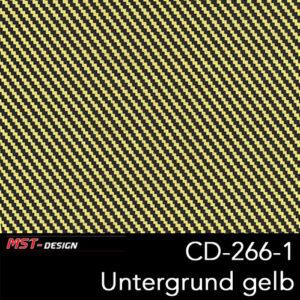 MST-Design, Wassertransferdruck, Folie CD-266-1, Untergrund gelb