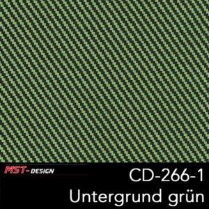 MST-Design, Wassertransferdruck, Folie CD-266-1, Untergrund grün