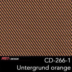 MST-Design, Wassertransferdruck, Folie CD-266-1, Untergrund orange