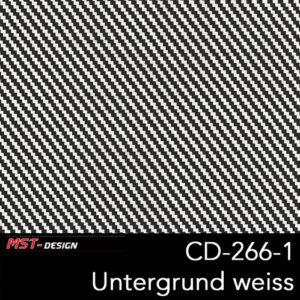 MST-Design, Wassertransferdruck, Folie CD-266-1, Untergrund weiß