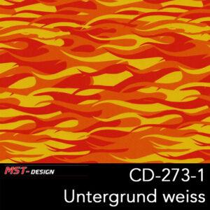 MST-Design, Wassertransferdruck, Folie CD-273-1, Untergrund weiß