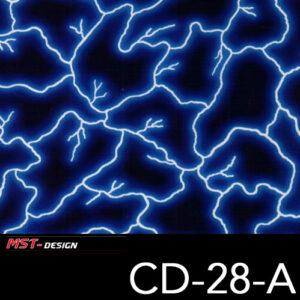 MST-Design, Wassertransferdruck, Folie CD-28-A, Blitz Style