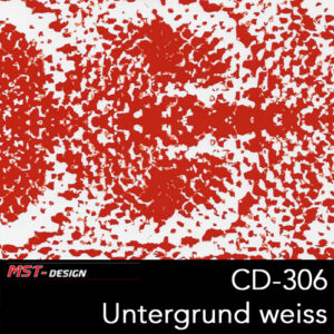 MST-Design, Wassertransferdruck, Folie CD-306, Untergrund weiß