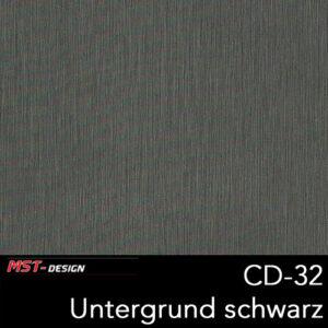 MST-Design, Wassertransferdruck, Folie CD-32, Untergrund schwarz