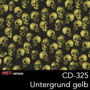 MST-Design, Wassertransferdruck, Folie CD-325, Untergrund gelb