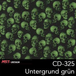 MST-Design, Wassertransferdruck, Folie CD-325, Untergrund grün